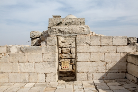 Mount Griezim ruins, holy place for the Samaritan community, Israel Stock Photo - 20687300