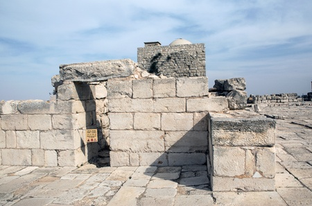 Mount Griezim ruins, holy place for the Samaritan community, Israel Stock Photo - 20687301
