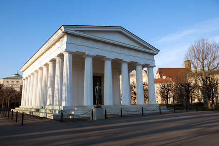 Temple of Theseus  in Vienna, Austria at winter Stock Photo - 23424279