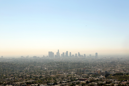 Los Angeles panoramic view from the Observatory
