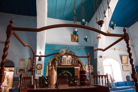 synagogue: Old synagogue in Zefat old city, Israel