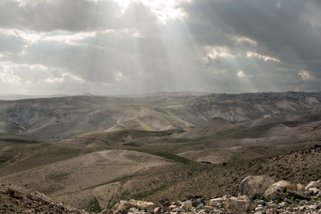 israel farming: Israely mountains in spring