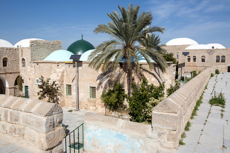 nabi: Nabi Musa site in the Judean desert , Israel Stock Photo