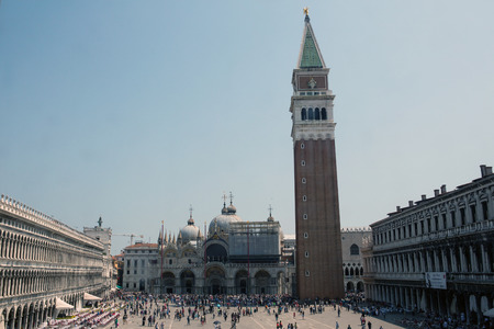 saint marks: Saint Marks square in Venice, Italy Editorial