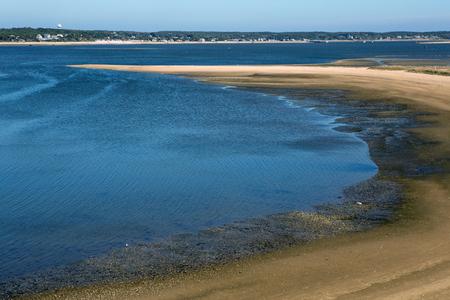 Bay water in Welfleet, Cape Cod