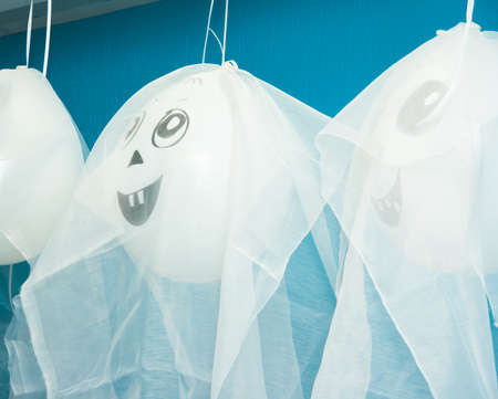 heartbreaking: Balloons Ghost for party Halloween