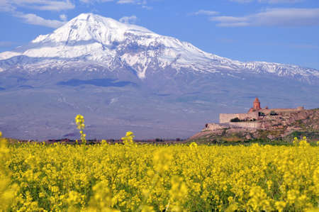 Ararat  in Armenia, near the border with Turkey photo