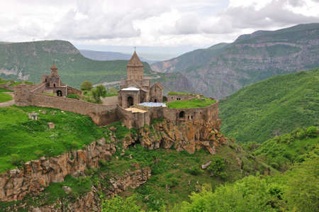 tatev: Tatev Monastery in south part of Armenia Stock Photo