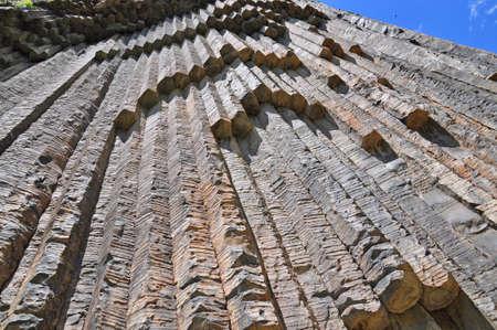 Les formations géologiques massifs dans les montagnes de l'Arménie Banque d'images - 20172730