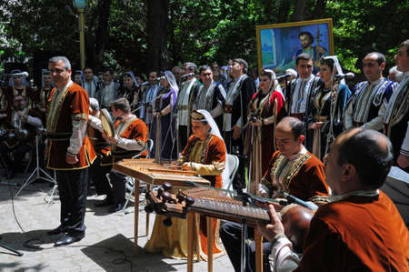 national poet: The traditional Armenian holiday in honor of the poet Sayat Nova Editorial