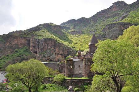 geghard: The monastery of Geghard  is a  architectural construction in the Kotayk province of Armenia. listed as a UNESCO World Heritage Site.