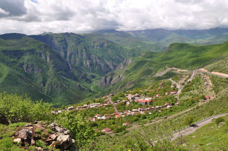 tatev: cableway Wings of Tatev has a length of 5.7 km above the picturesque gorge of the river Vorotan. Connects the two villages: Halidzor and Tatev