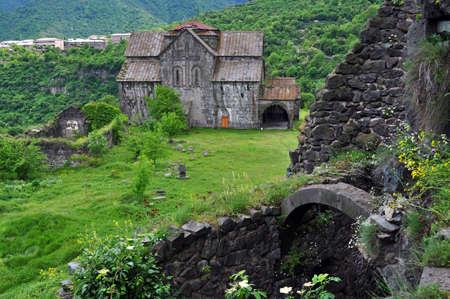 Akhtala fortified Armenian Apostolic Church monastery located in Armenia