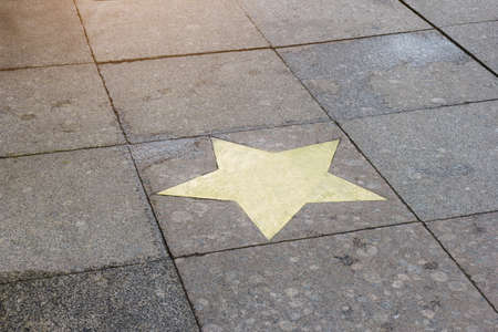 star famous success on the alley of granite template