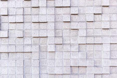 white tile background cubic pattern design stone decorative