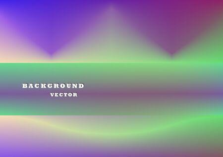 Abstract purple and green vector illustration, background. Poster, presentation. Illusztráció
