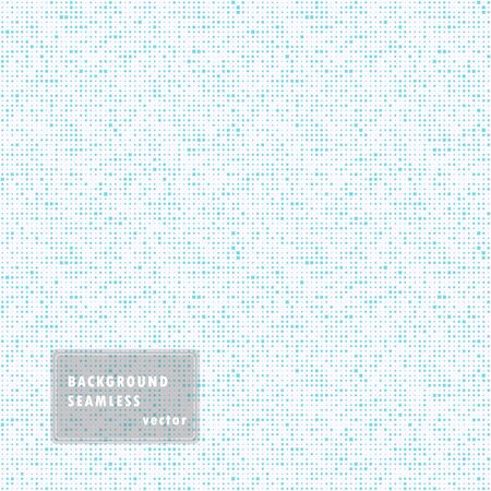 Abstract seamless illustration of halftone squares. Monochrome repeating geometric elements.