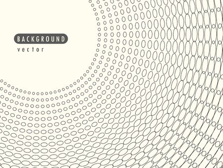 Vector abstract radial retro halftone dots. Element in the overlay banner.