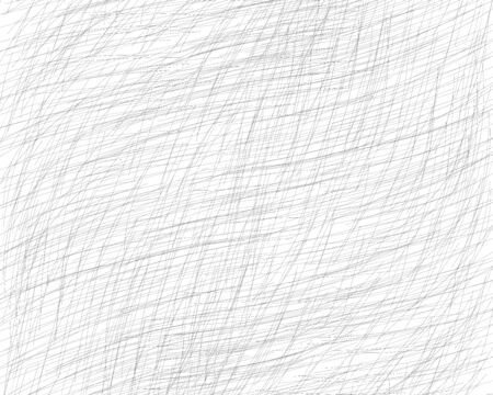 Hand drawn cross-hatching with a pencil. Oblique grey fine lines, scribble