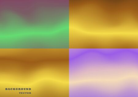 Abstract purple and green vector illustration, background.