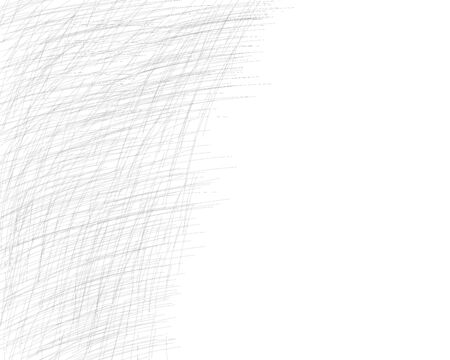 Hand drawn cross-hatching with a pencil. Oblique grey fine lines, scribble, Doodle, daub. Vector design element with the ability to overlay. Isolated background.