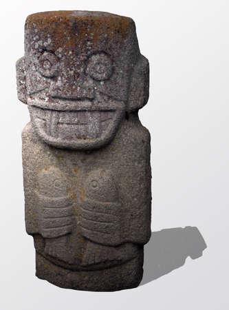 indígenas totem Foto de archivo - 10940091