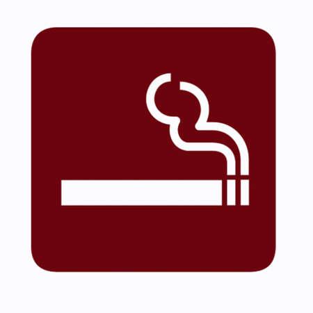 obligation: smoking sign Stock Photo