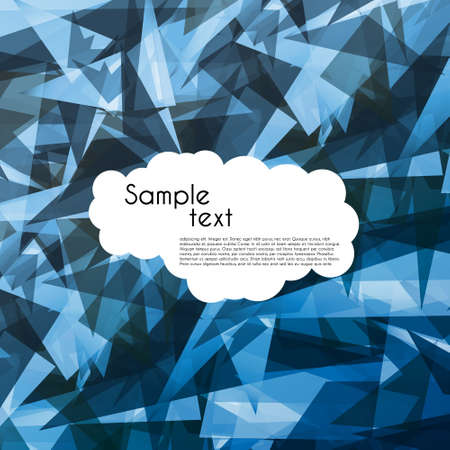 Crystal abstract  background Stock Vector - 14714248