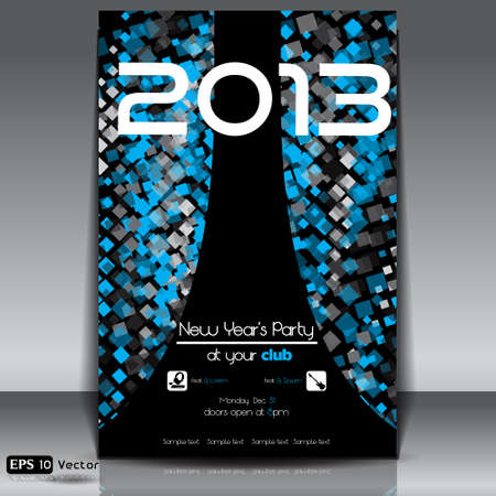 Abstract,  New Year Party 2013