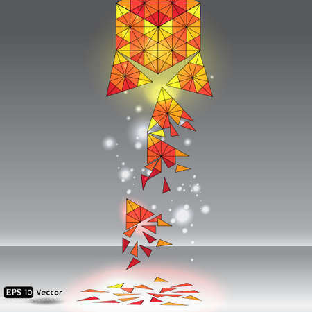 Abstract Creative dynamic element Illustration