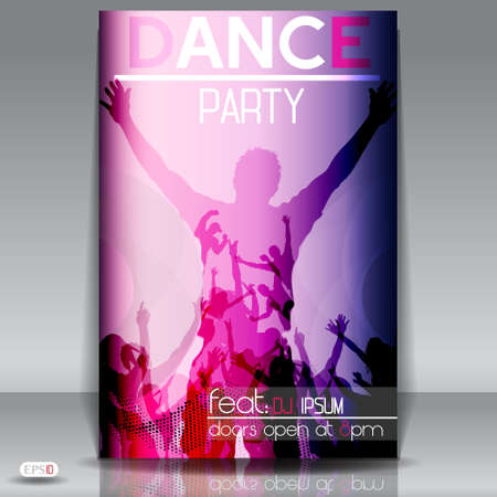 Party design template , Vector Illustration  Stock Vector - 17995510