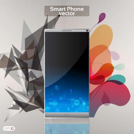 Smart Phone Infographic  - Vector Design Concept Stock Vector - 18641498
