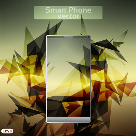 Smart Phone Infographic  - Vector Design Concept