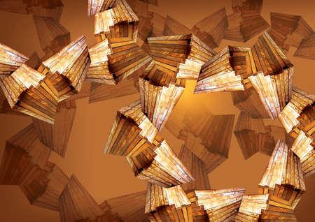 DNA wood background