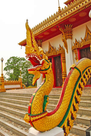 Thai dragon, King of Naga statue
