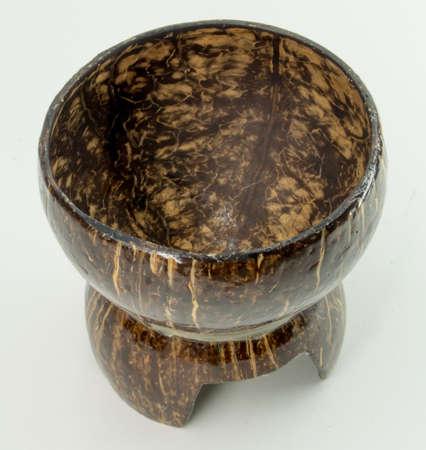 Kokosnussschale Tassen Lizenzfreie Bilder