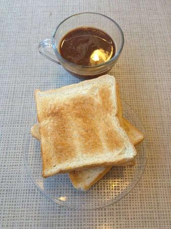 Toast Kaffee