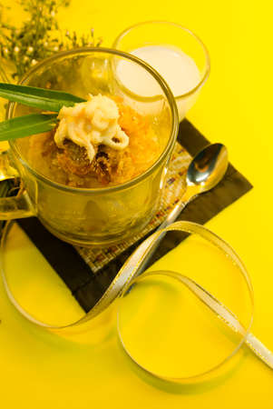 Eierstich Thai Dessert
