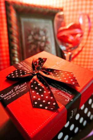 Valentine Geschenke Lizenzfreie Bilder