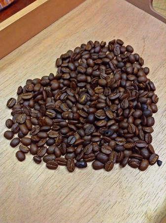 Herz von Kaffee