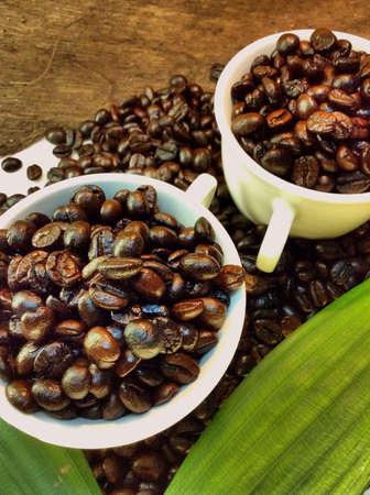 Cup coffee bean