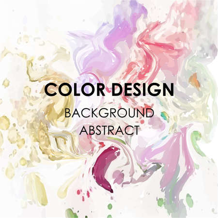 Art abstract background watercolor paint  texture design poster illustration vector. Perfect watercolor design for headline, logo and sale banner.