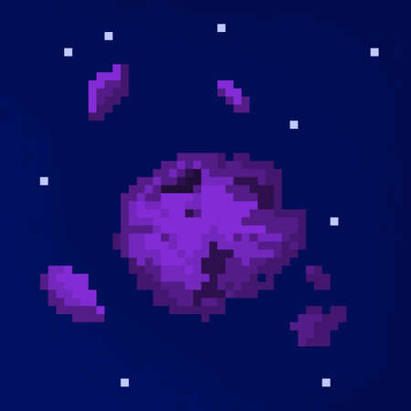 8bit: Pixel meteorite for games and applications