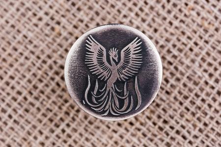 rebirth: Phoenix a symbol of rebirth, gives health prosperity beauty. Stock Photo