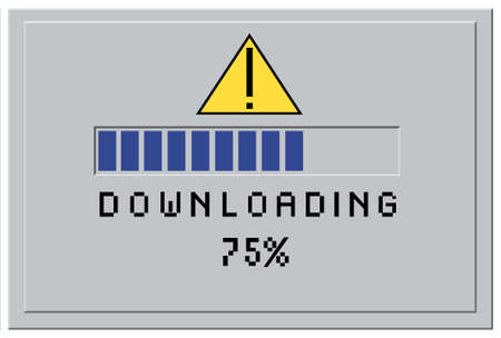 downloading content: downloading content