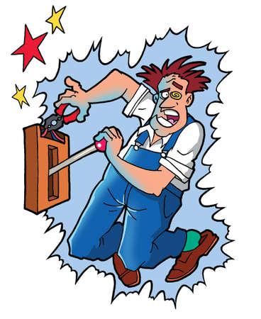 convulsion: Hombre de alta tensión