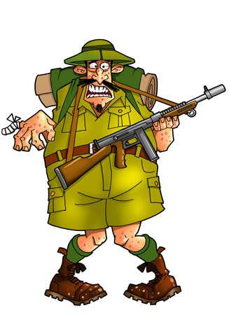 huntsman: frightened hunter