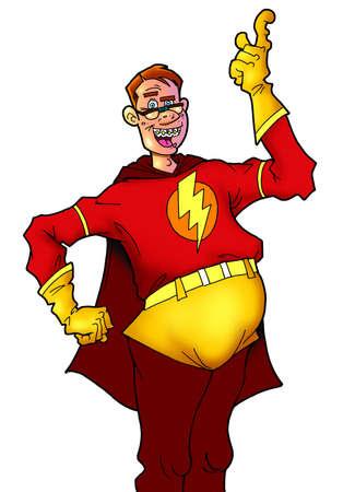 superpowers: comic nerd hero