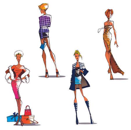 defile: fashion girls