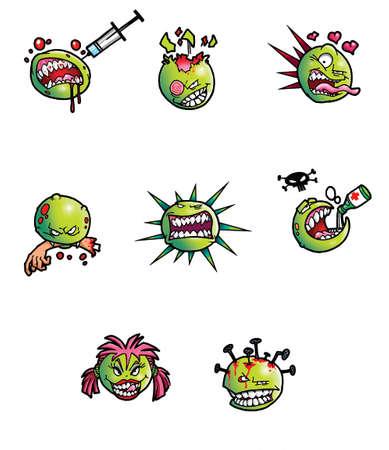 venereal: cartoon viruses